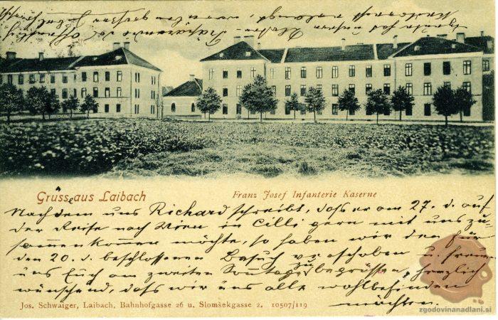 Mestna pehotna vojašnica v Ljubljani