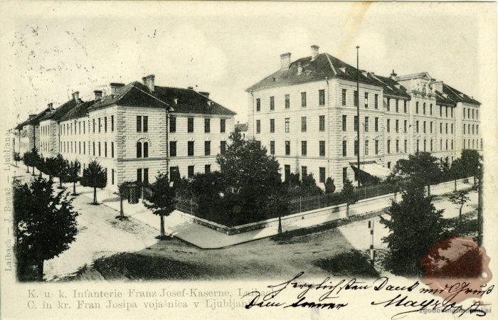 Pehotna vojašnica Franca Jožefa
