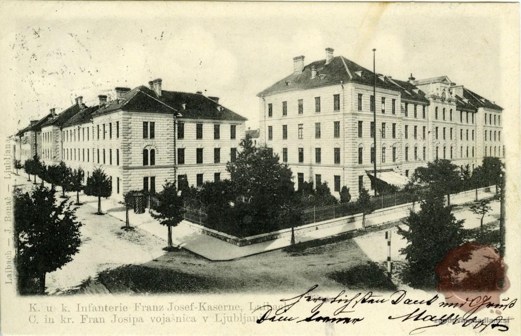 77-1_mestna_pehotna_vojašnica_pehotna_vojašnica_Franca_Jožefa_ljubljana_1903