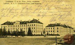 Cesarsko-kraljeva vojašnica v Ljubljani