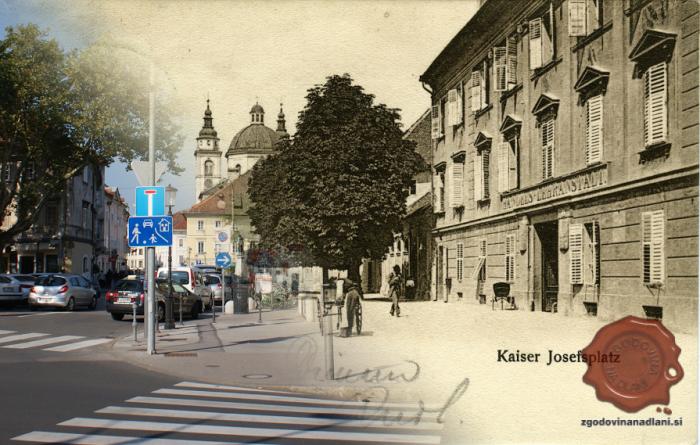 Trg Franca Jožefa – Vodnikov trg
