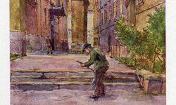 Pred ljubljansko stolnico