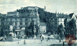 Stara Ljubljana in ljubljanski tramvaj