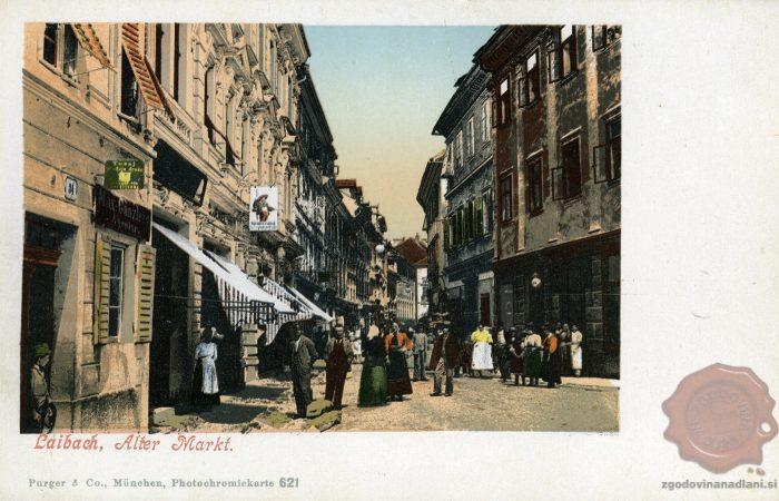 Običajen dan na Starem trgu