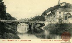 Šentjakobski most po potresu