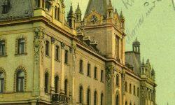 Ljubljana_Kranjski_deželni_dvorec_Univerza_v_Ljubljani_Vegova_1908