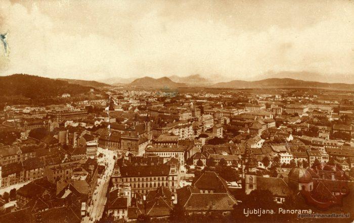 Marijin trg z gradu