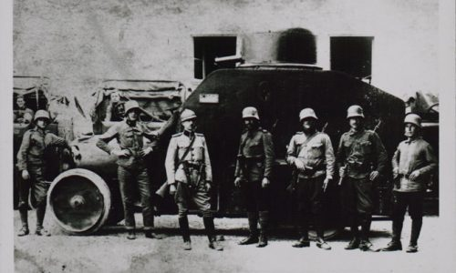 Oklepno vojaško vozilo sokolskih legionarjev_dlib