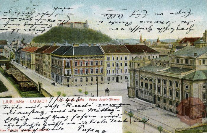 Franca Jožefa cesta z Opero