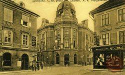 Pošta, Hotel Slon in Hotel Stadt Wien
