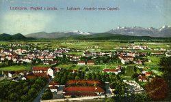 Pogled z Ljubljanskega gradu