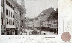 Mestni trg z Rotovžem