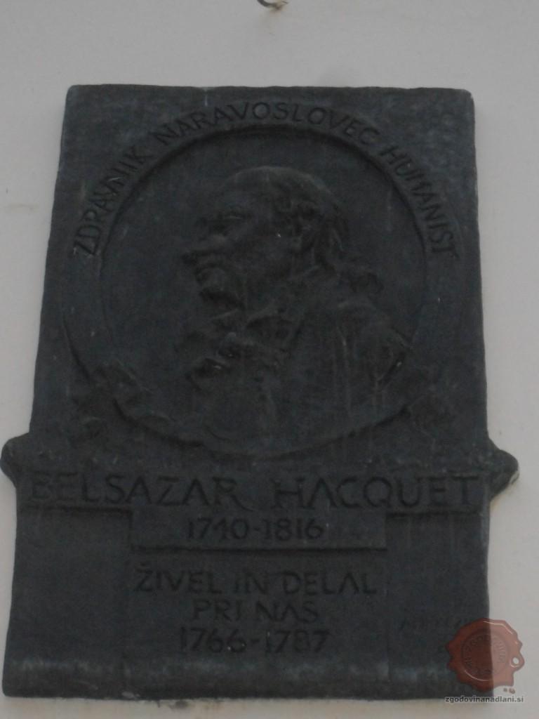 spominska plošča Hacqueta_Danijel Osmanagić