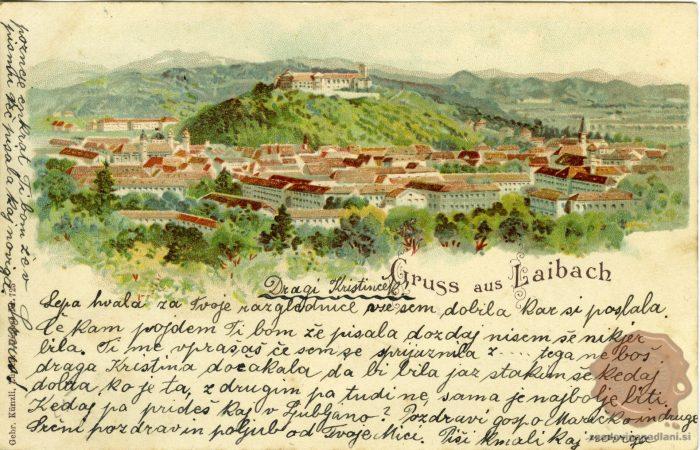 Pozdravi iz Ljubljane