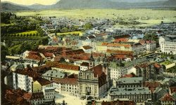 Marijin trg z Ljubljanskega gradu