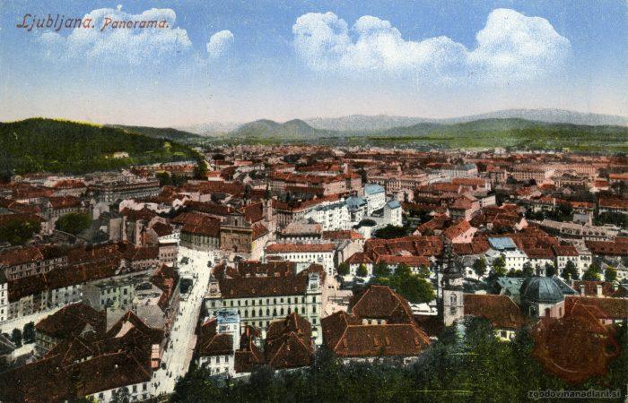 Panorama z Ljubljanskega gradu