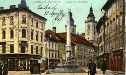 Ljubljana_Mestni_trg_Robbov_vodnjak_1908