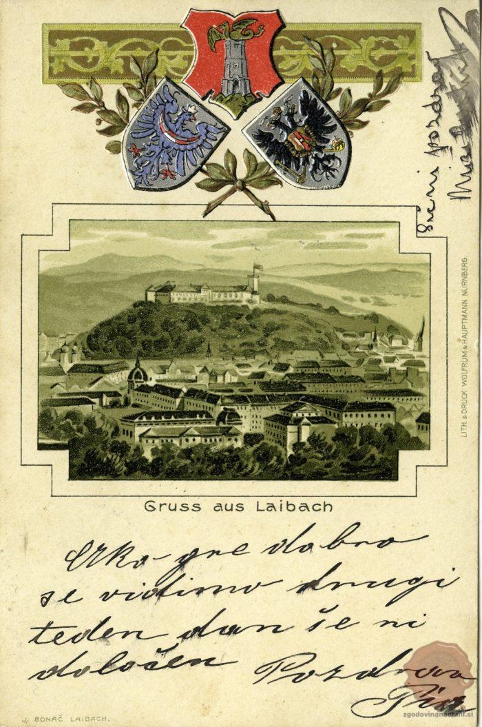 Ljubljana in grbi