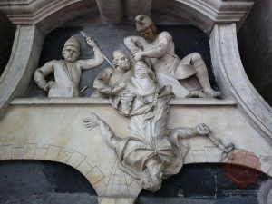 Kip sv. Janeza Nepomuka v fasadni niši cerkve sv. Florjana v Ljubljani - Wikipedia