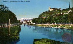 jubljana_Kamniške_Alpe_Gradaščica_Ljubljanski_Grad_Ljubljanica_1913