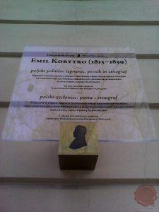 Spominska plošča v Ljubljani. Foto Danijel Osmanagić.