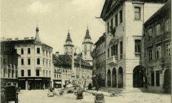 Ljubljana_Mestni_trg_stolnica_Rotovž_Robbov_vodnjak