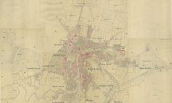 Katastrski načrt Ljubljane 1841