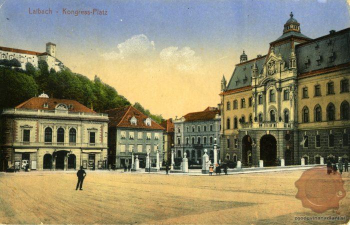 Filharmonija in deželni dvorec
