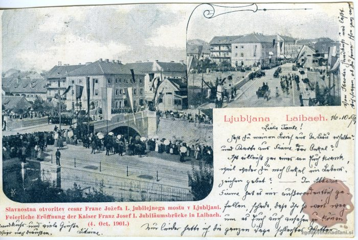 Otvoritev Jubilejnega mostu