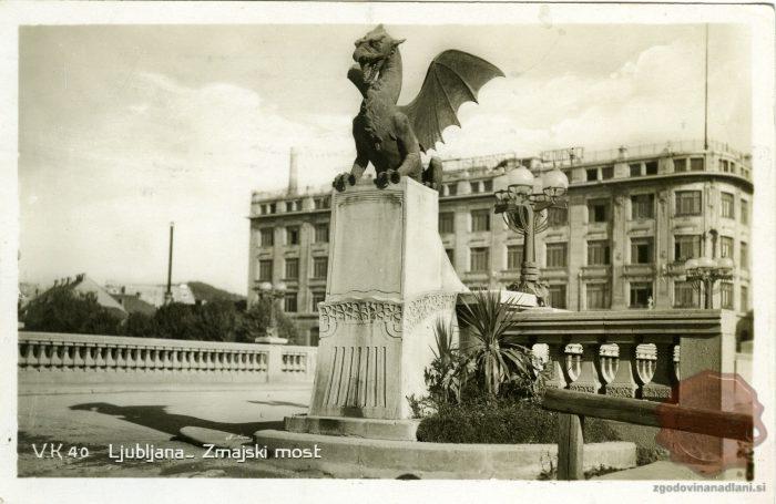 Zmajski most in kip zmaja