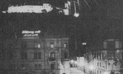 Praznovanje 20-letnice Majniške deklaracije. Vir: Teden v slikah (1937), letnik 1, številka 19, str. 4.