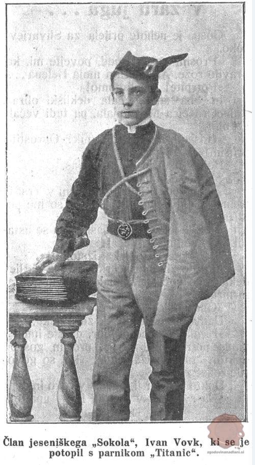 Janko Vovk, Slovenski ilustrovani dnevnik, 23.5.1912, št. 21, str. 4