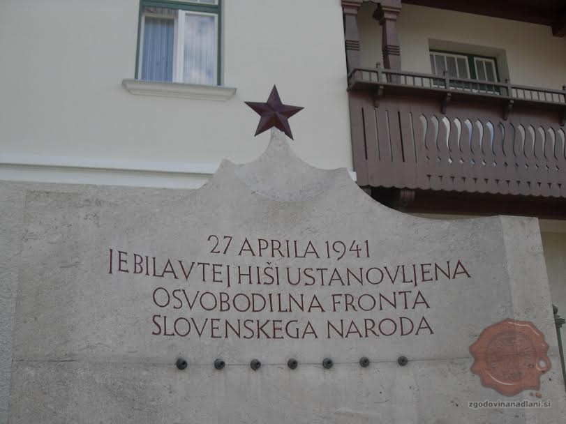 vidmarjeva hiša, dan OF, foto Danijel Osmanagić
