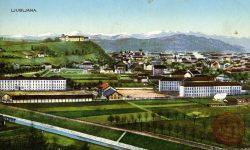 Poljane_Ljubljanski_grad_Domobranska_vojašnica_Ljubljana