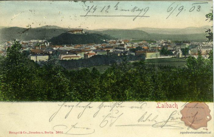 Ljubljana leta 1903