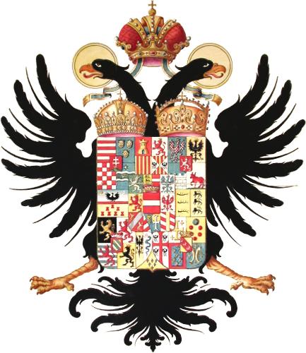 Grb Marije Terezije. Vir: Wikipedia.