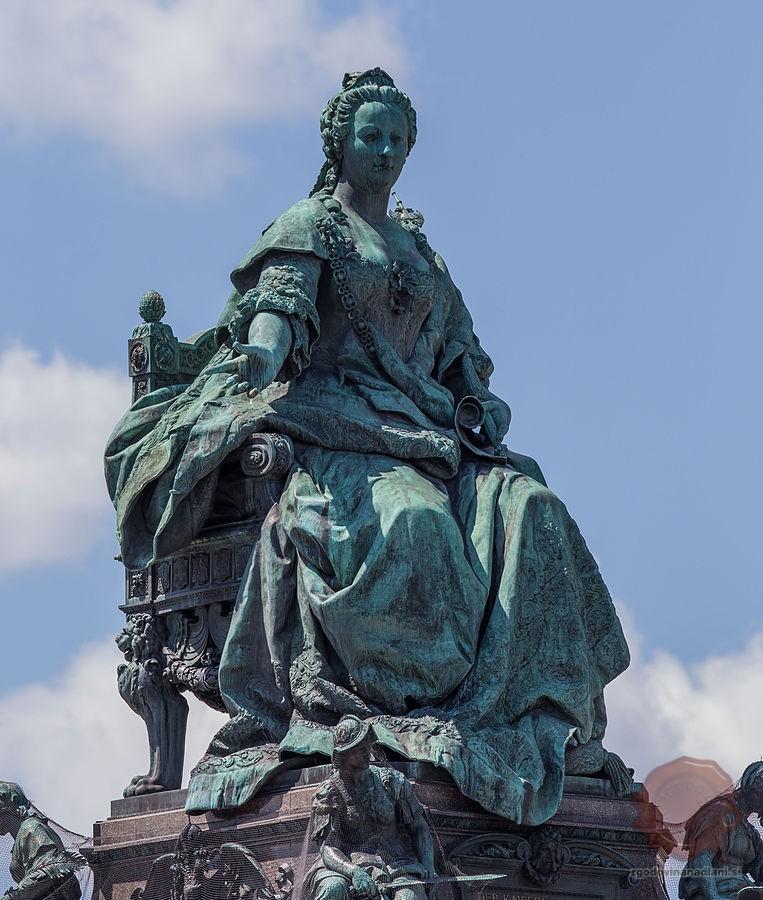 Spomenik Mariji Tereziji na Dunaju. Vir: wikipedia.