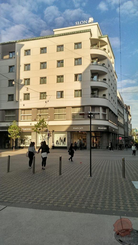 Hotel Slon. Foto: Uroš Klopčič.
