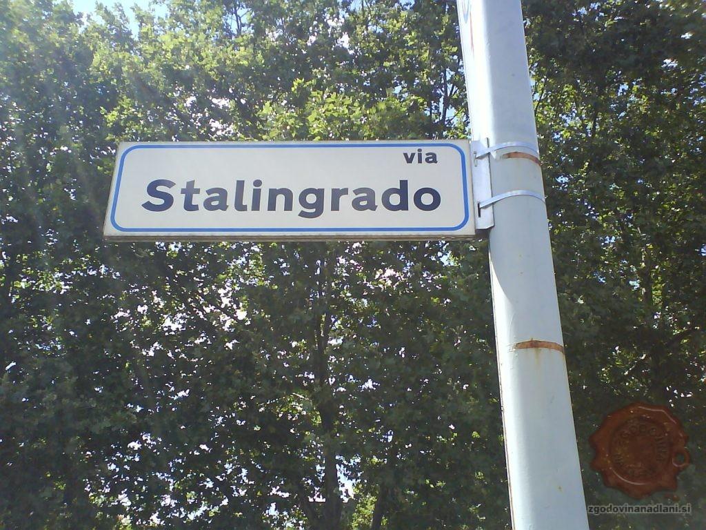 Stalingrajska ulica v Bologni. Foto Davor Knežiček,