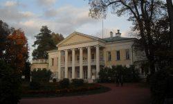 Leninova rezidenca v mestu Gorki-Leninski FOTO: Danijel