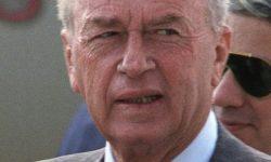 Yitzhak Rabin, FOTO Wikipedia