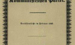 Prvi Komunistični manifest, Foto: Wikipedia