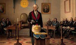 Prisega Georgea Washingtona (ilustracija iz leta 1793, FOTO Wikipedia)