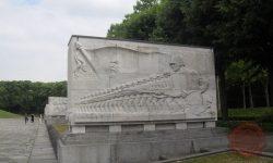 Grobnica sovjetskim vojakom, ki so padli v bitki za Berlin (Berlin Treptower park, FOTO Danijel Osmanagić)