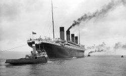 Titanic 2. aprila 1912 v Belfastu (FOTO: Wikipedia)