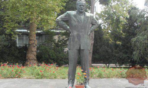 Spomenik Borisu Kidriču v Ljubljani (FOTO: Danijel Osmanagić)