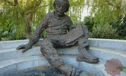 Einsteinov spomenik v Izraelu (FOTO: Wikipeida)
