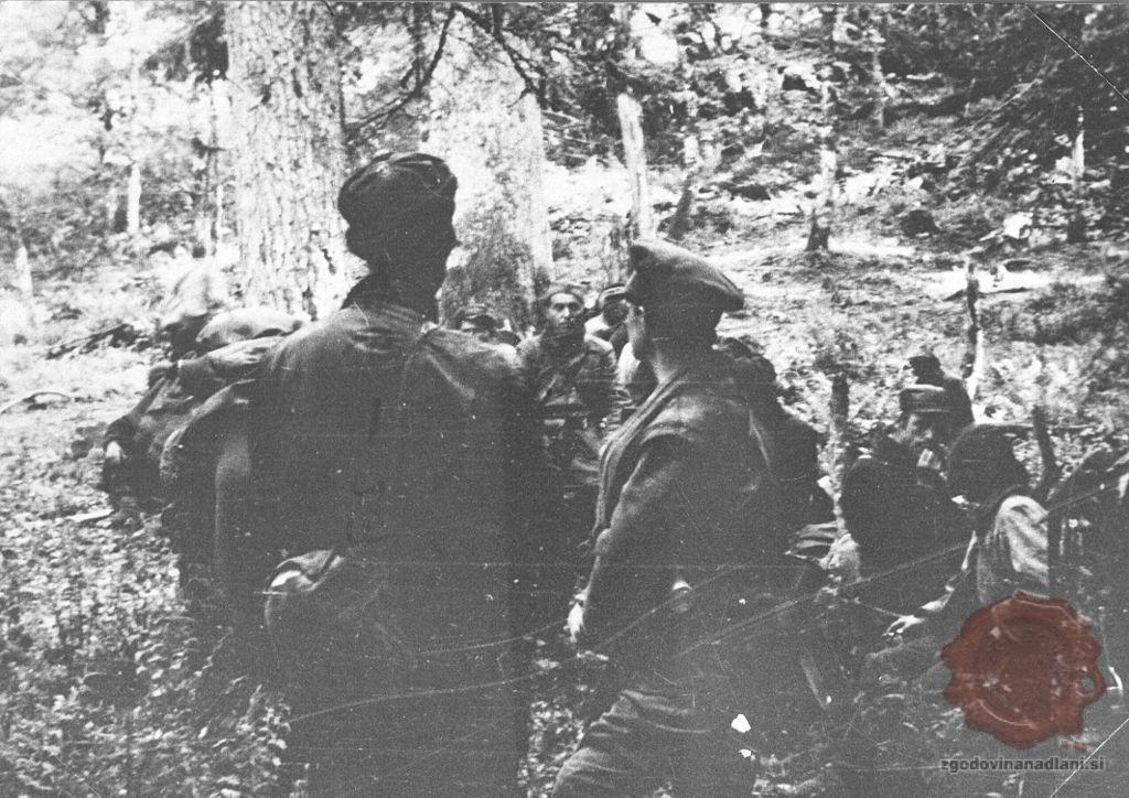Britanska vojaška misija pri partizanih. Foto: Wikipedia.