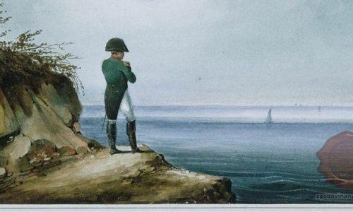 Napoleon na Sveti Heleni, slika Franza Josefa Sandmanna (FOTO Wikipedia)