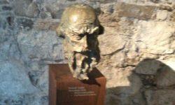 Kip Primoža Trubarja v Muzeju slovenske zgodovine na ljubljanskem gradu (avtor Mirsad Begić), FOTO Danijel Osmanagić